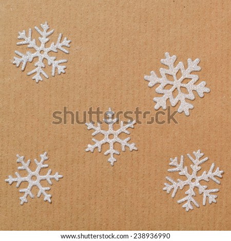 Detail of paper craft as decoration - stock photo
