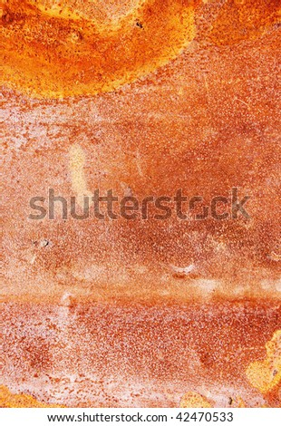 Detail of rusty metal surface  abstract texture