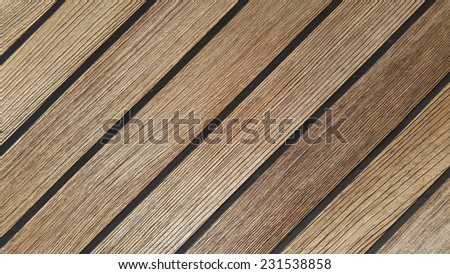 Detail of teak wood - stock photo
