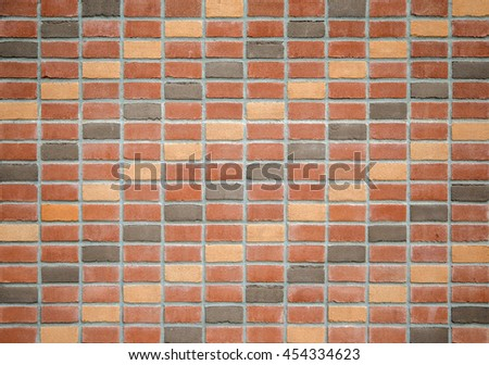 Detail of the brick wall