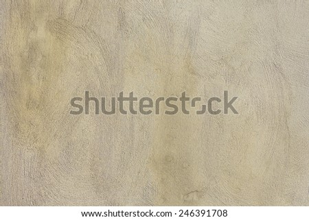 Detail of Venetian plaster on old wall. - stock photo