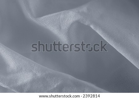Detail of white fabric