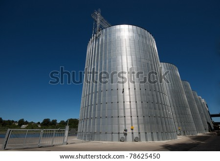 detail view of a gas tank made from aluminum and steel - stock photo