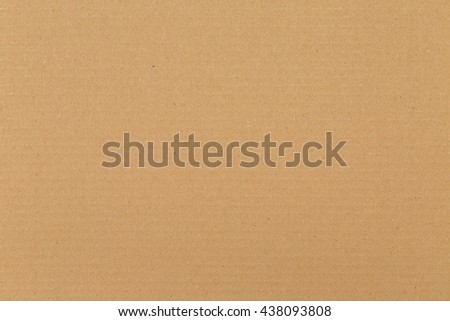 Detailed cardboard texture with slightly visible horizontal lines. Evenly lit blank surface. Ideal for render textures. - stock photo