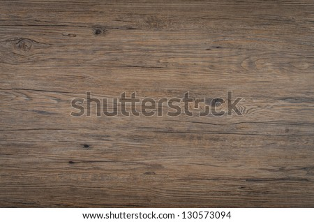 Detailed closeup of brown wood texture background. - stock photo