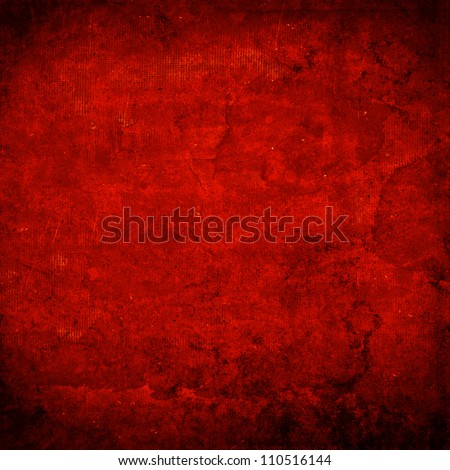 Detailed dark grunge background with scratches , stains and vignette - stock photo