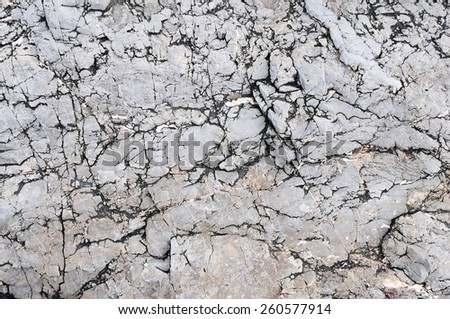 Detailed Rocks Surface.Dirt Background - stock photo