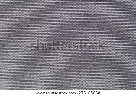 detailed texture of a gray fabric - stock photo