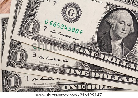 Details of bills in one American dollar