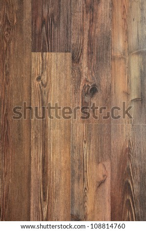 Details of Brown wood texture in closeup - stock photo