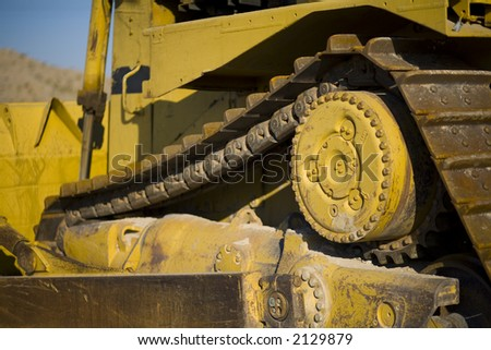 Details of construction dozer