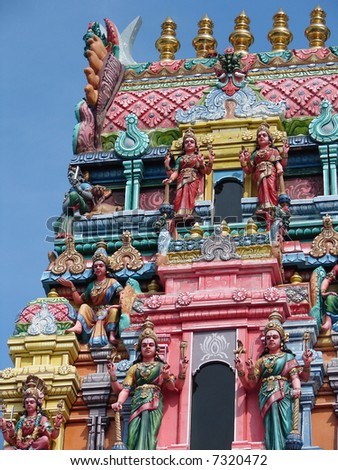 Details of Indian temple