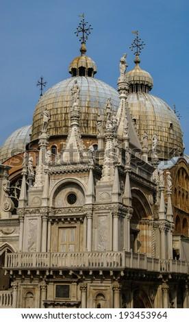 Details, Venice, Italy - stock photo