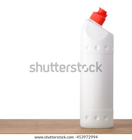 Detergent Bottle with isolated background