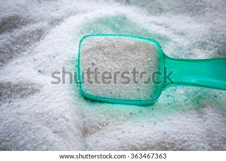 detergent for a laundry washer