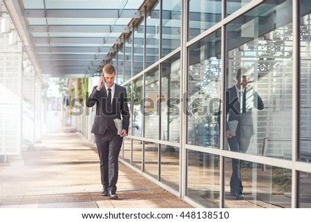 Determined to succeed in the business world - stock photo