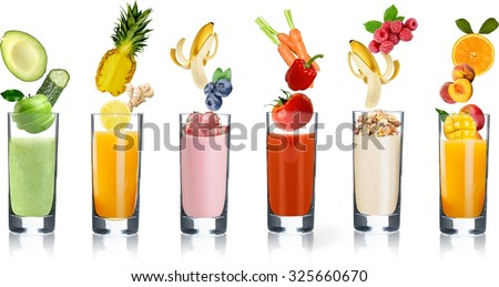 Detox Smoothies - fruit juice, smoothie drinks and shakes