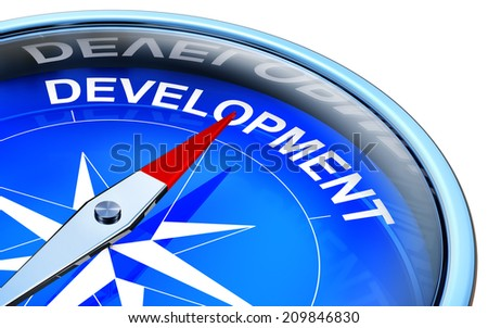 development - stock photo