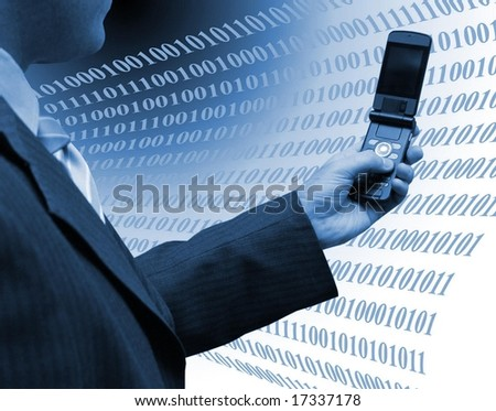 Development an d technology - stock photo