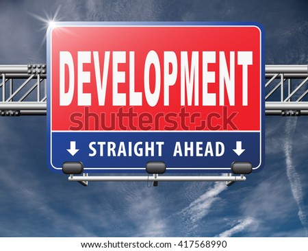 Development of new product or software and work in progress, next steps in working process.