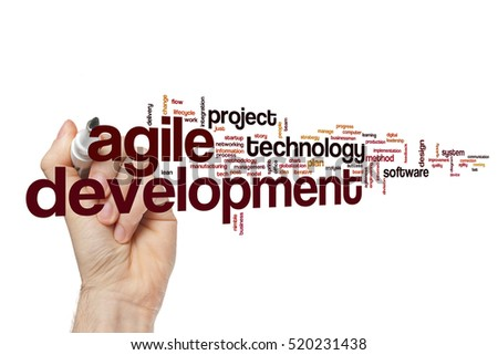 Development word cloud