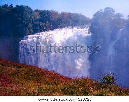 Devils cataract - stock photo