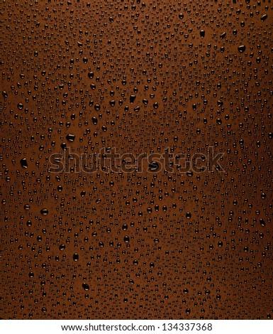 Dew drops texture - stock photo