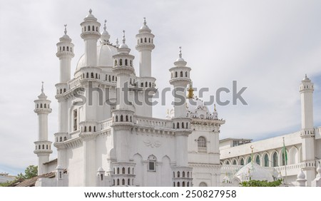dewatagaha mosque in colombo - stock photo