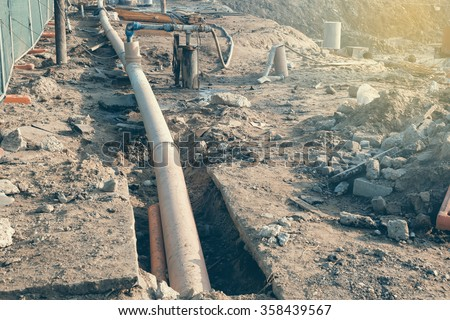 Inc Hook Pipeline Construction Up And
