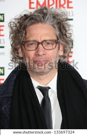 Dexter Fletcher arrives for the Empire Film Awards 2013 at the Grosvenor House Hotel, London. 24/03/2013 Picture by: Henry Harris
