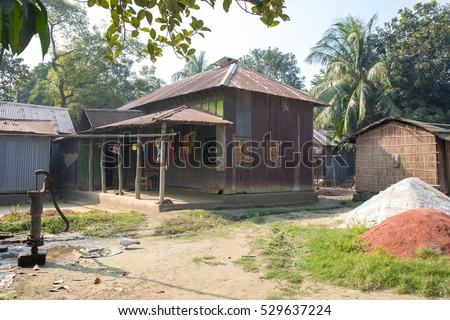 Tin Shed House Design In Bangladesh