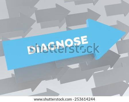 DIAGNOSE - stock photo