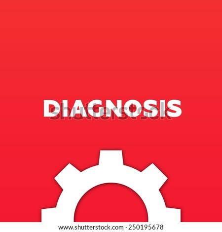 DIAGNOSIS - stock photo