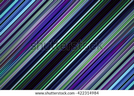 Diagonal green and blue stripes background