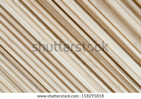 Diagonal plywood texture - stock photo