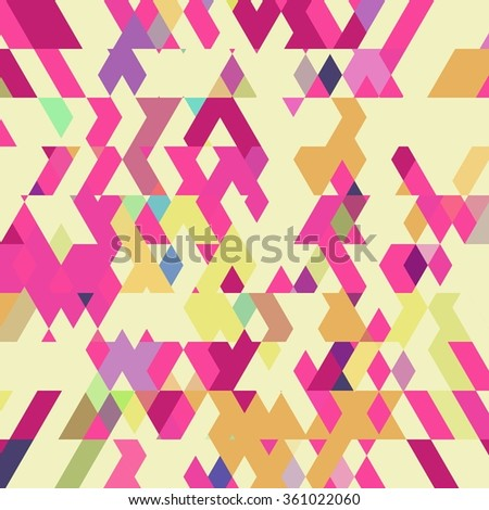 Diagonal polygonal background. Colorful diamond polygonal background.