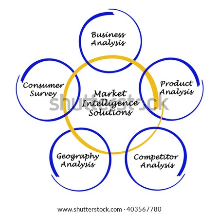Diagram of Market Intelligence Solutions