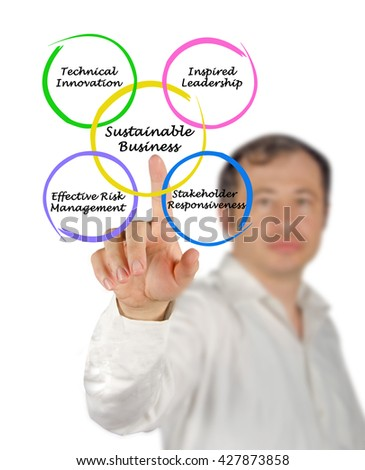 Diagram of Sustainable Business