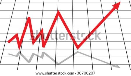 Diagram (Rasterized versions) - stock photo
