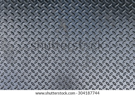 diamond iron plate - stock photo
