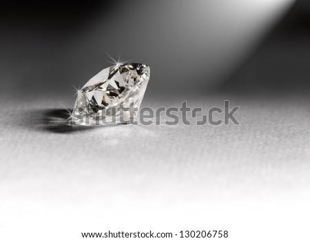 Diamond jewelery - stock photo