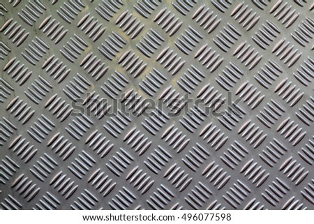 Diamond plate steel background texture