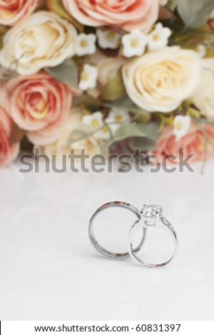 diamond rings for wedding day
