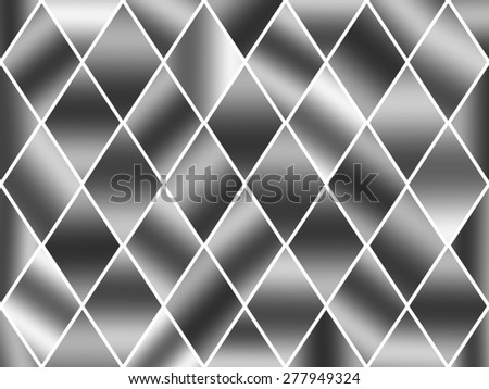 Diamond Shape Background - stock photo