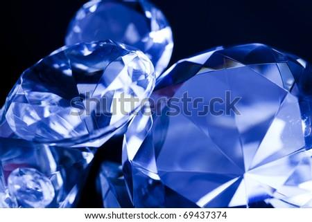 Diamonds and Gemstones - stock photo