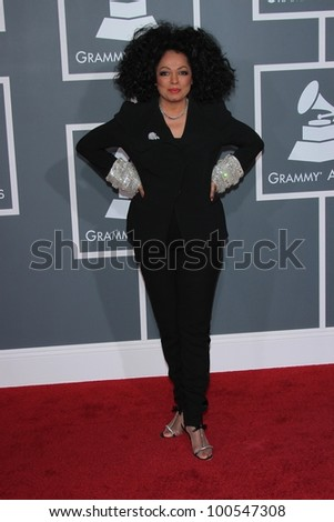 Diana Ross at the 54th Annual Grammy Awards, Staples Center, Los Angeles, CA 02-12-12