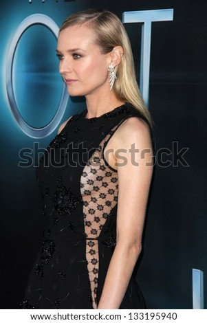 """Diane Kruger at """"The Host"""" World Premiere, Arclight, Hollywood, CA 03-19-13 - stock photo"""