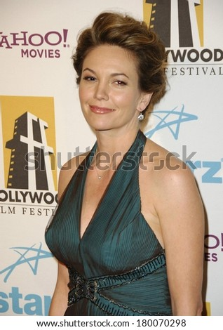 Diane Lane at Hollywood Film Festival 10th Annual Hollywood Awards, The Beverly Hilton Hotel, Beverly Hills, CA, October 23, 2006 - stock photo