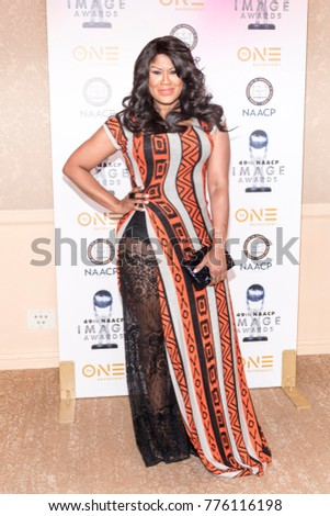 Diann Valentine Attends 49th NAACP Image Awards Nominees Luncheon At The  Beverly Hilton, Beverly Hills