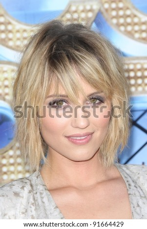 """Dianna Agron at the """"Glee The 3D Concert Movie"""" World Premiere, Village Theater, Westwood, CA 08-06-11 - stock photo"""
